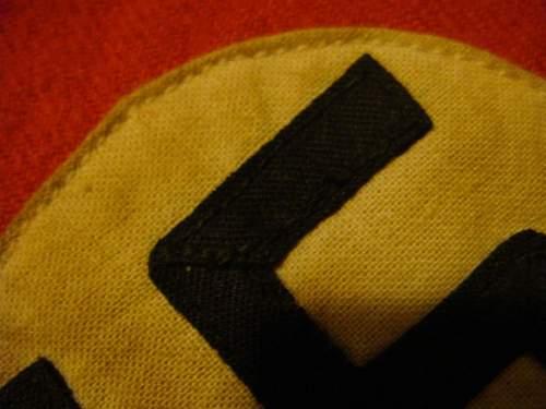Mini NSDAP armband