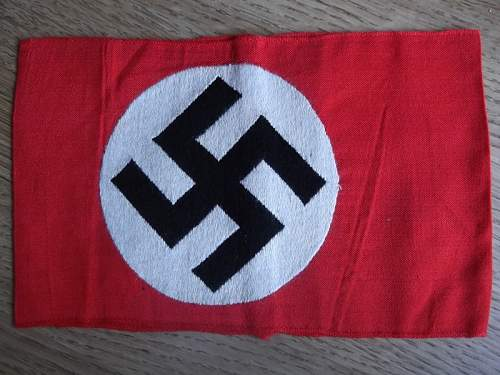 NSDAP Bevo Kamfbinde