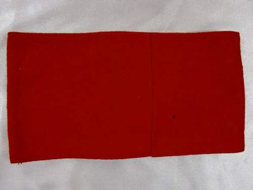 Large selection of armbands for viewing