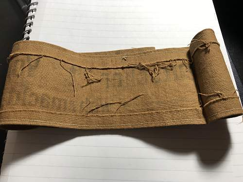 Volkssturm Armband Fake?