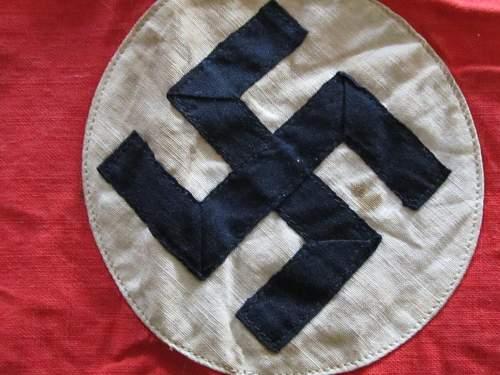 Need Help- NSDAP Kampfbinde Arm Band Real or Fake?