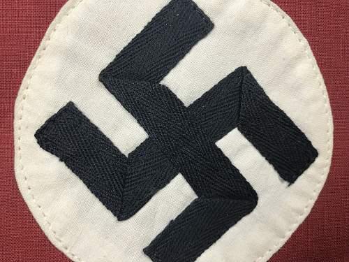 NSDAP kampfbinde for consideration please