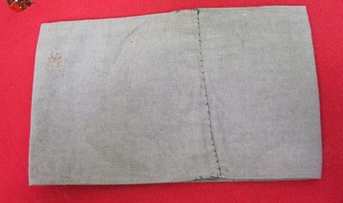 Gray armband? Anyone know what this was for?