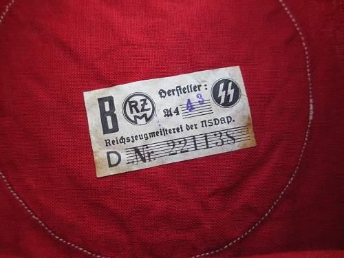 SS wool kampfbinde & Reserve SA kampfbinde, authentic?