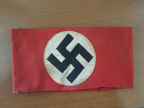 NSDAP kampfbinde, authentic?