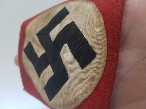 NSDAP kampfbinde, authentic?
