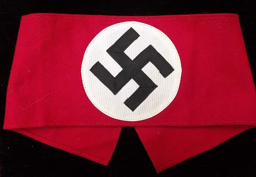 My New Wool NSDAP Kampfbinde