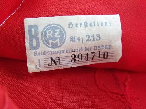 My New Wool NSDAP Kampfbinde