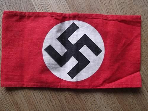 NSDAP Printed Armband