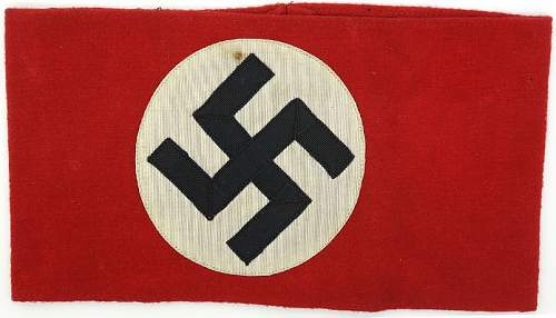 NSDAP Kampfbinde Arm Band