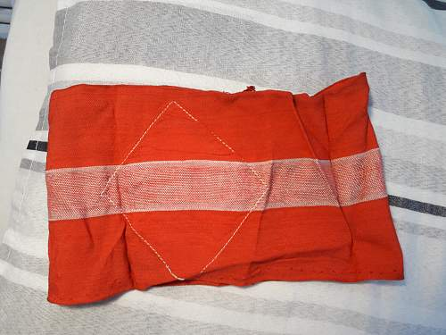 HELP WANTED! Hitlerjugend armband real or fake?