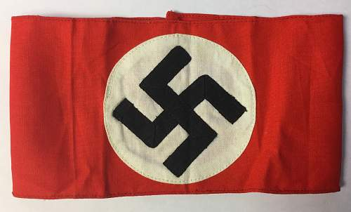 NSDAP Kampfbindes new to the market