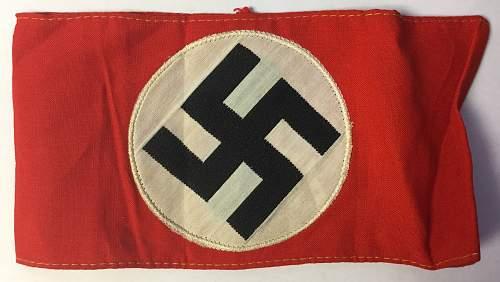 NSDAP Kampfbindes new to the market