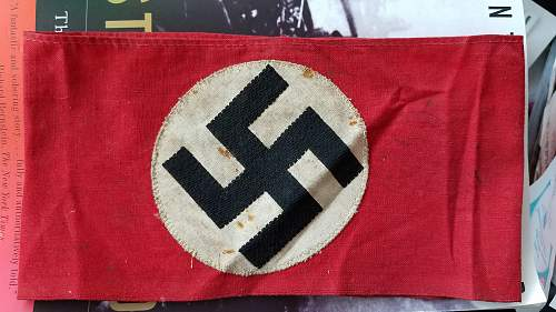 Woven NSDAP kampfbinde