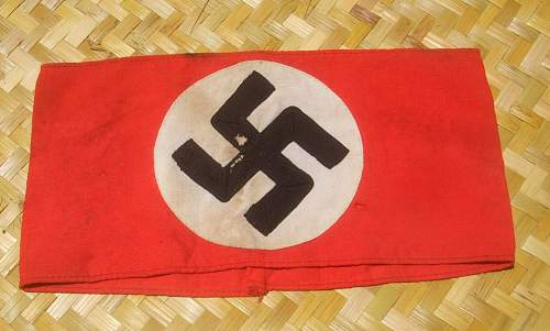 Click image for larger version.  Name:Nazi Armband (2).jpg Views:961 Size:180.8 KB ID:135245