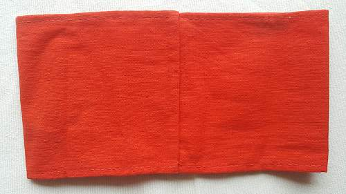 NSDAP party armband opinions please