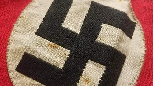NSDAP kampfbinde w/ SA stamp?