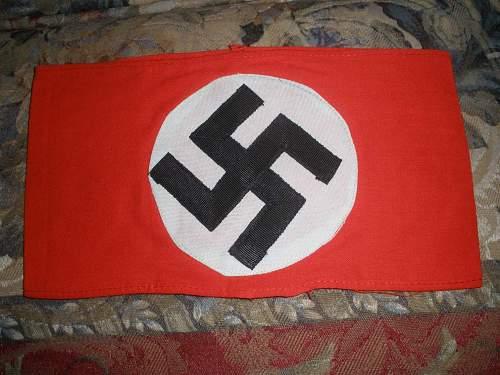 NSDAP Armband; Auction find #4
