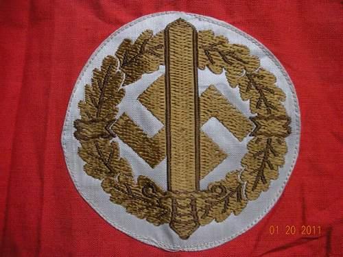 SA Sport and NSDAP - look good or no?