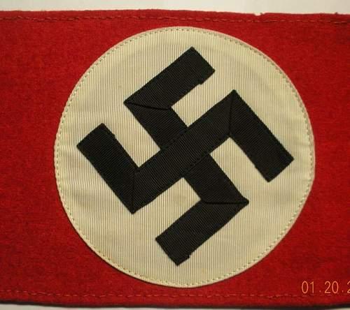 Click image for larger version.  Name:NSDAP - SA - Armbands2.jpg Views:88 Size:67.1 KB ID:172373