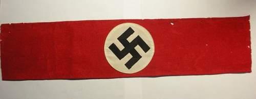 Click image for larger version.  Name:NSDAP - SA - Armbands1.jpg Views:77 Size:18.9 KB ID:172375