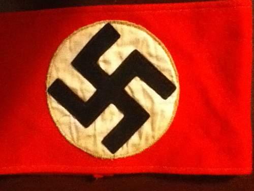 NSDAP armband, real or fake?