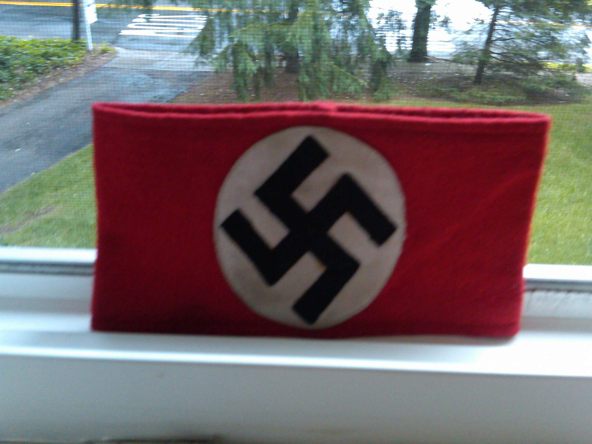 My First Ever Swastika Armband