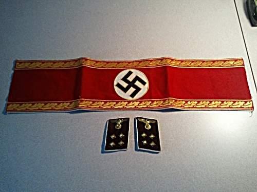 Armband and Rank Tabs