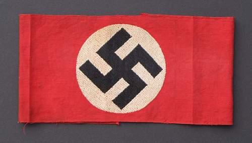 My NSDAP Armband