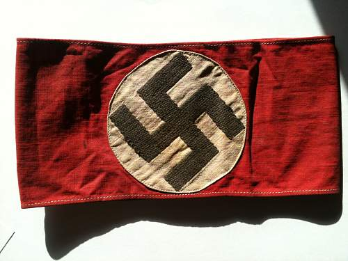NSDAP Armband for review