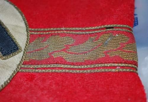 Ortsgruppenleiter armband : Original or fake