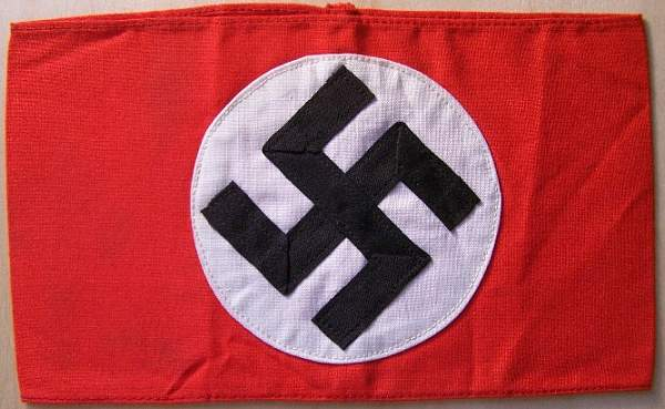 Click image for larger version.  Name:NSDAP armband 1a.jpg Views:40 Size:98.4 KB ID:25071