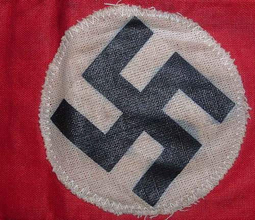 NSDAP Armband - Opinions Please