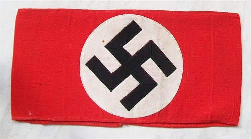 Swastika Armband.