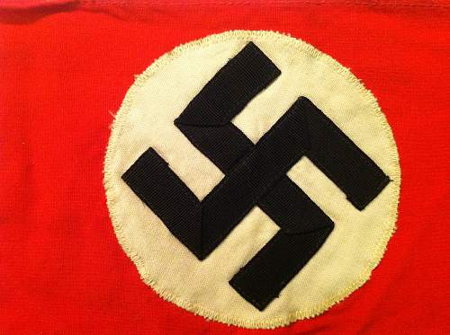 NSDAP Armband Question