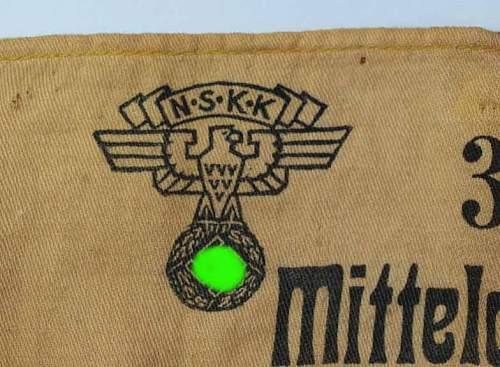 NSKK - Rally Armband