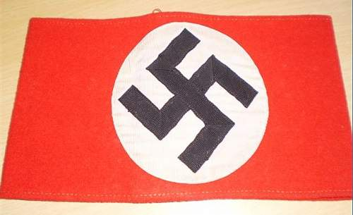 Opinions please - NSDAP Armbands