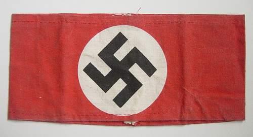 Click image for larger version.  Name:NSDAP printed armband 003.jpg Views:60 Size:224.4 KB ID:34708