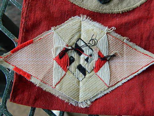 Authentic NSDAP Armband & HJ insignia?