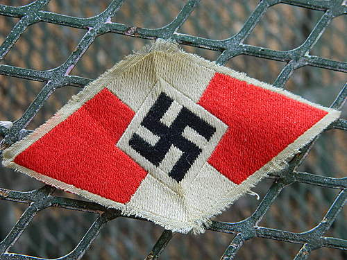 Authentic NSDAP Armband & HJ insignia?