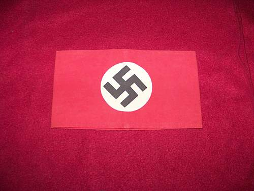 opinion NSDAP armband good or bad