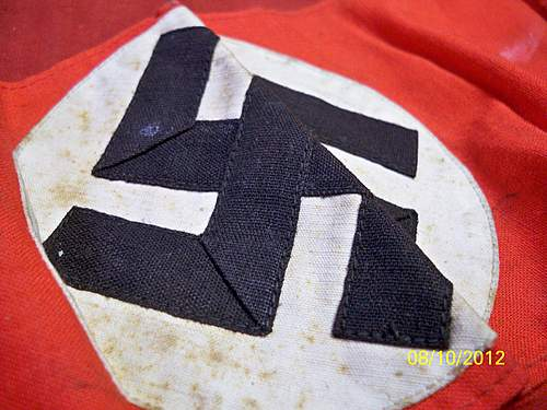 NSDAP armband with blue RZM tag
