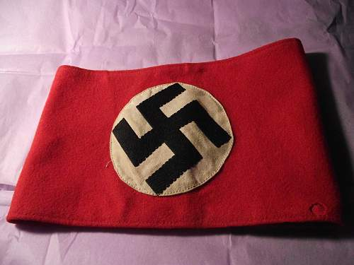 NSDAP Party armband