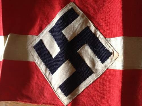 NSDAP Armband: Real or repro?