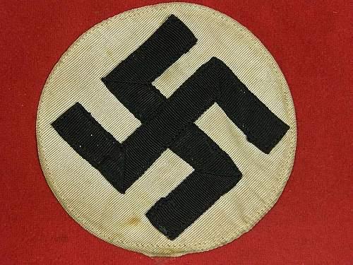 Legit? - Deutsches Arbeitsfront (DAF) armband for Oberlagerfuhrer