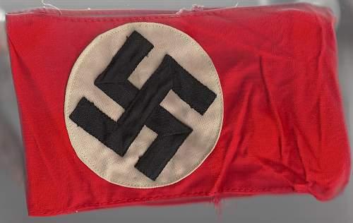 NSDAP Armband- real or fake