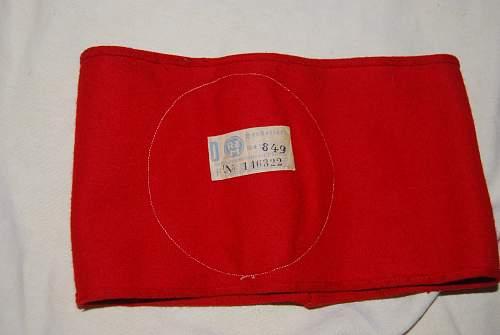 WW2 German armband real or fake?