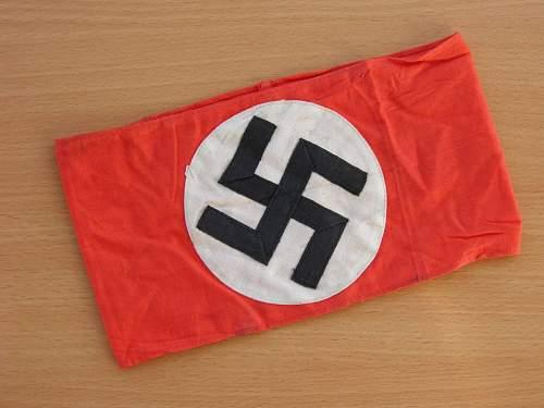 NSDAP multi piece armband