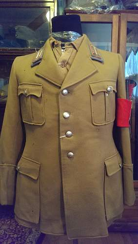 NSDAP Service Tunic - Ortsleader