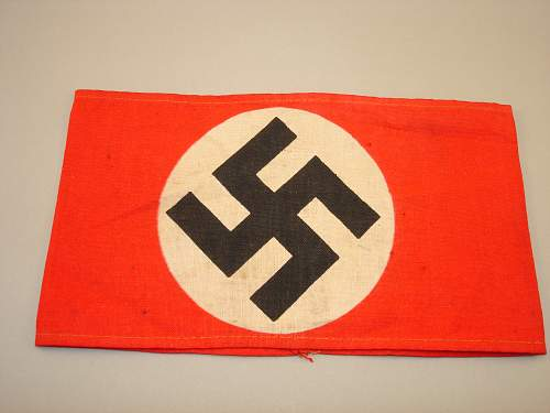 Click image for larger version.  Name:NSDAP Armband Printed - Front.jpg Views:31 Size:323.9 KB ID:683731